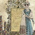 La Dame dans le Jardin by Melanie  Dooley