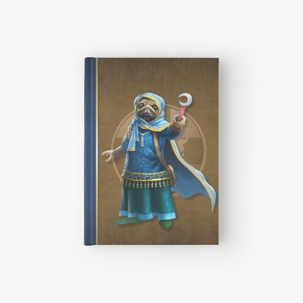Pugmire: Mochi Pug, Companion Breed Hardcover Journal