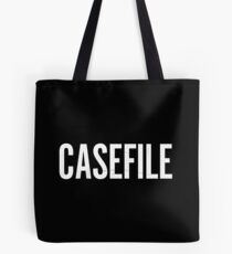 Casefile True Crime Podcast Logo (Light) Tote Bag