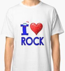 I LOVE ROCK Classic T-Shirt