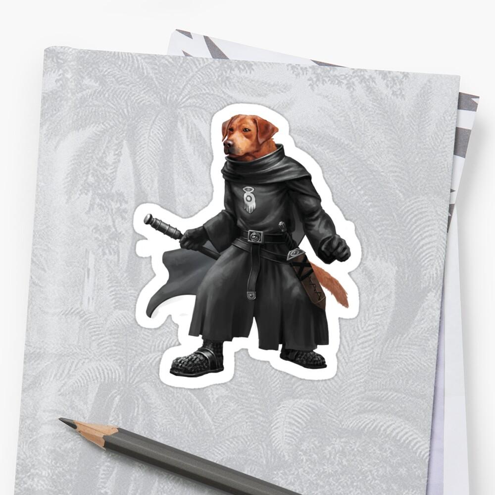 Pugmire: Inquisitor Ruby Labrador, Pointer Breed Sticker