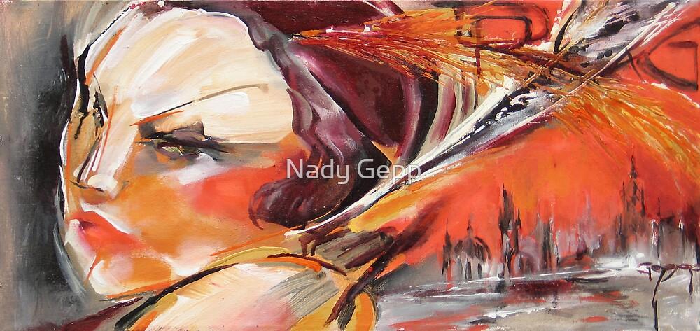 Evening Promenade by Nady Gepp