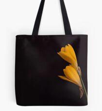 Yellow Crocuses.... Tote Bag