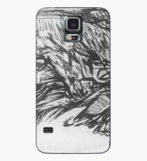 Village in the mountains Case/Skin for Samsung Galaxy