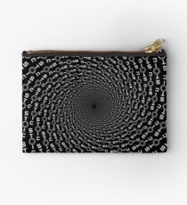 Stoic Calm Badge - Freedom Circle - Stay Stoic Zipper Pouch