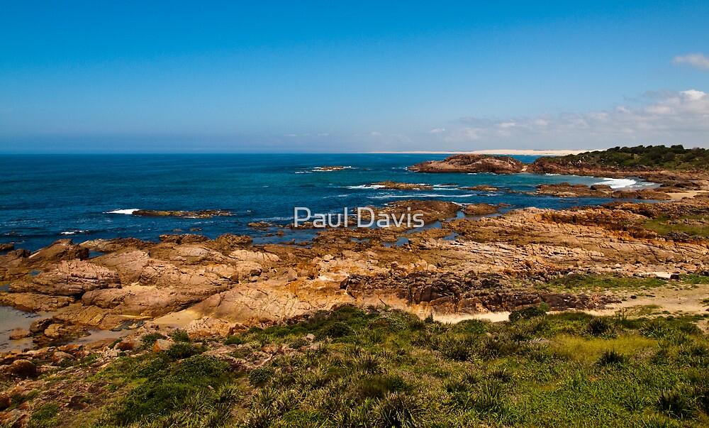 Nelson Bay - Newcastle - New South Wales by Paul Davis