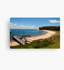 Nelson Bay - Newcastle - New South Wales Canvas Print