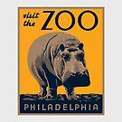 Visit the Zoo - Philadelphia (Vector Art) by Sabay