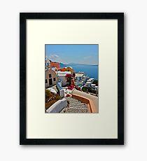 Bel Air - Santorini . Greece . by Brown Sugar . F*Favorites: 3 Views: 408 . Toda raba ! Thx! dear friends ! Framed Print