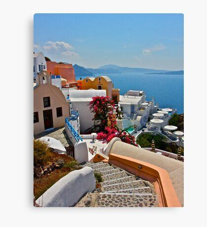 Bel Air - Santorini . Greece . by Brown Sugar . F*Favorites: 3 Views: 408 . Toda raba ! Thx! dear friends ! Canvas Print