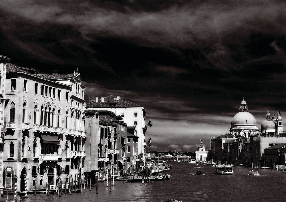 The Grand Canal, Venice by Colin Leal