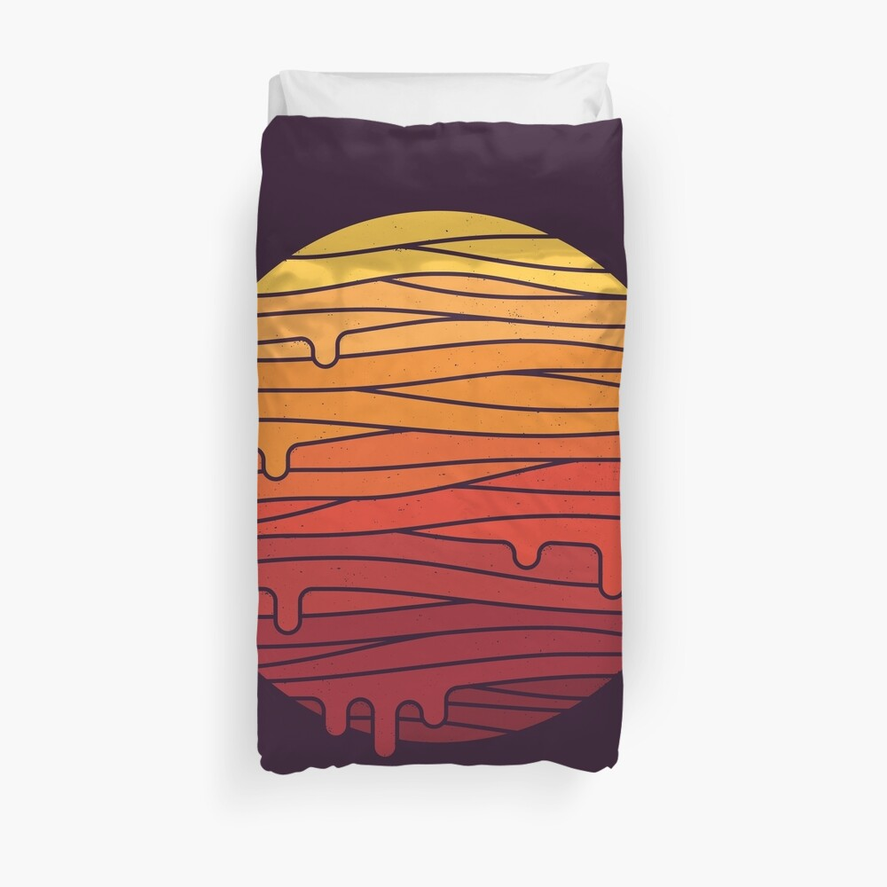 Heat Wave Duvet Cover