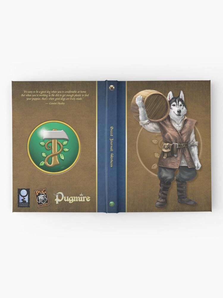 Alternate view of Pugmire: Gemini Husky, Worker Breed Hardcover Journal