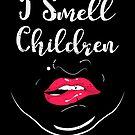 Scary I smell children shirt halloweeen women von mjacobp