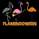 Funny Flaminggo Halloween FLAMINGOWEEN Youth von mjacobp