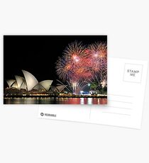 Oprah in Australia ... at the Opera House ! Postcards