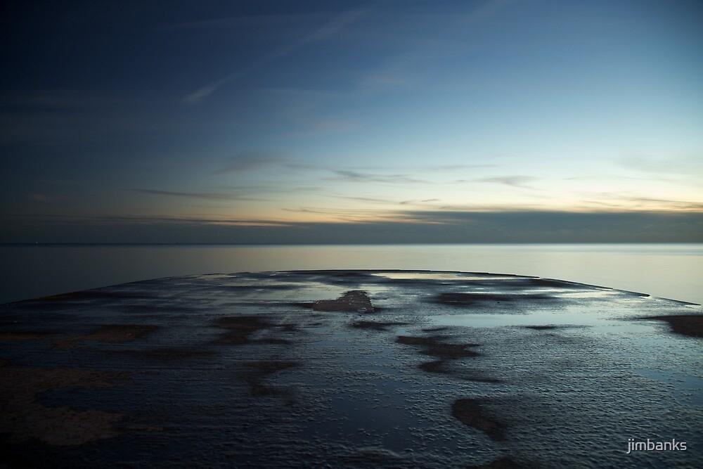 Late evening groyne by jimbanks