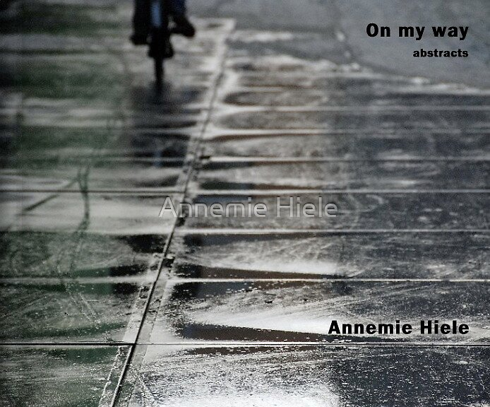bookcover On my way by Annemie Hiele