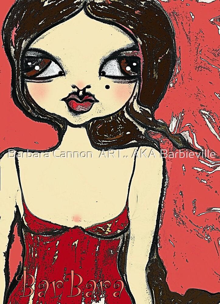 SARAH by Barbara Cannon  ART.. AKA Barbieville