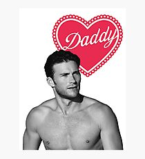 Scott Eastwood - Daddy Photographic Print