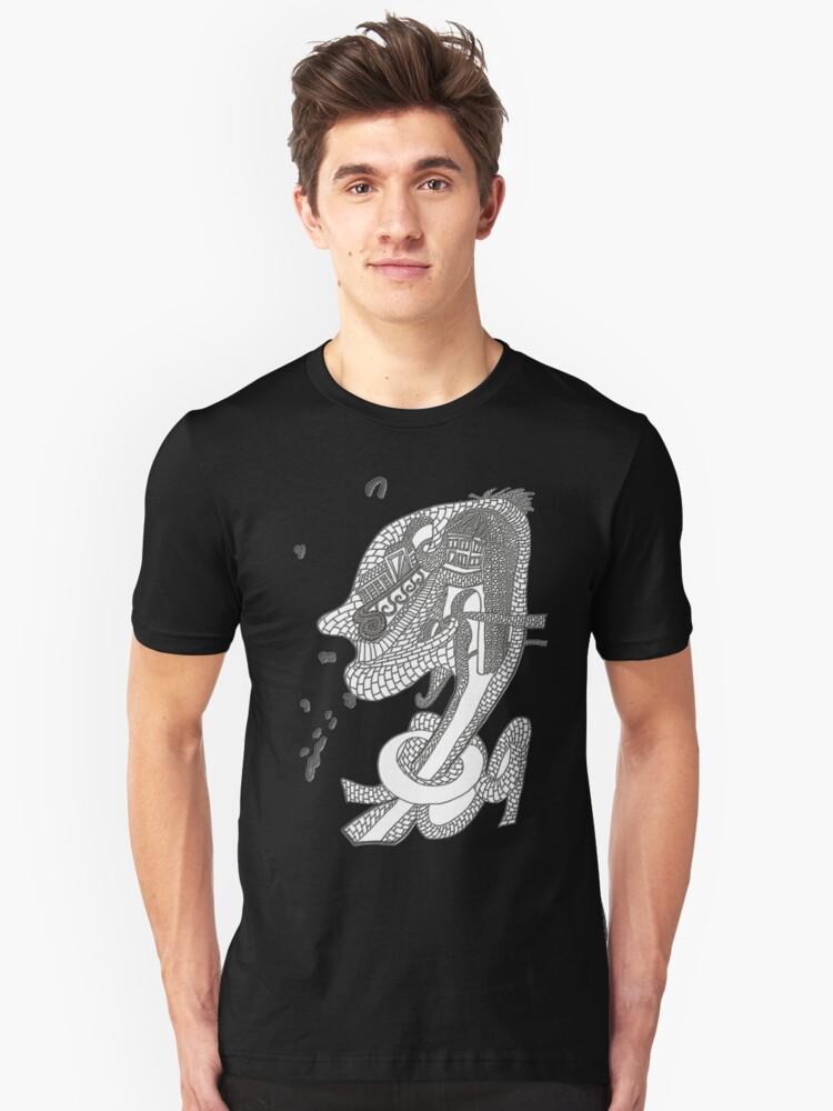 POR ESO  ME ENAMORÉ DE TI Unisex T-Shirt Front