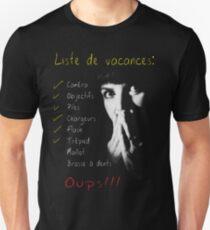 Photographe en vacances Unisex T-Shirt
