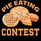 Funny Foodie Pie Eating Contest Food Gift von mjacobp