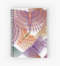 Firebird in Colours Spiral Notebook