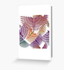 Firebird in Colours Greeting Card