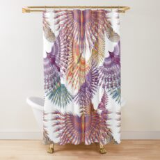 Firebird in Colours Shower Curtain