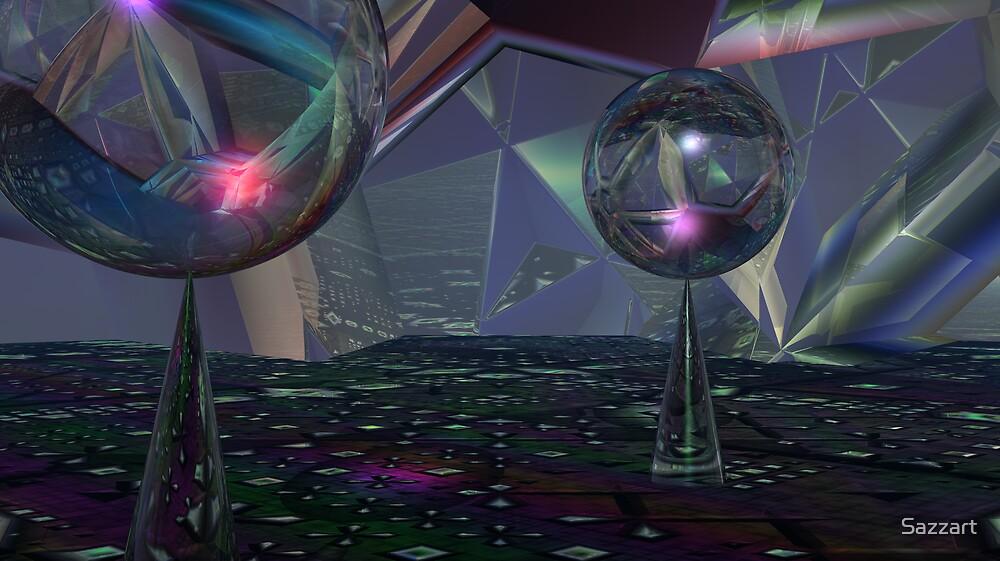Reflecting On Tessellations by Sazzart