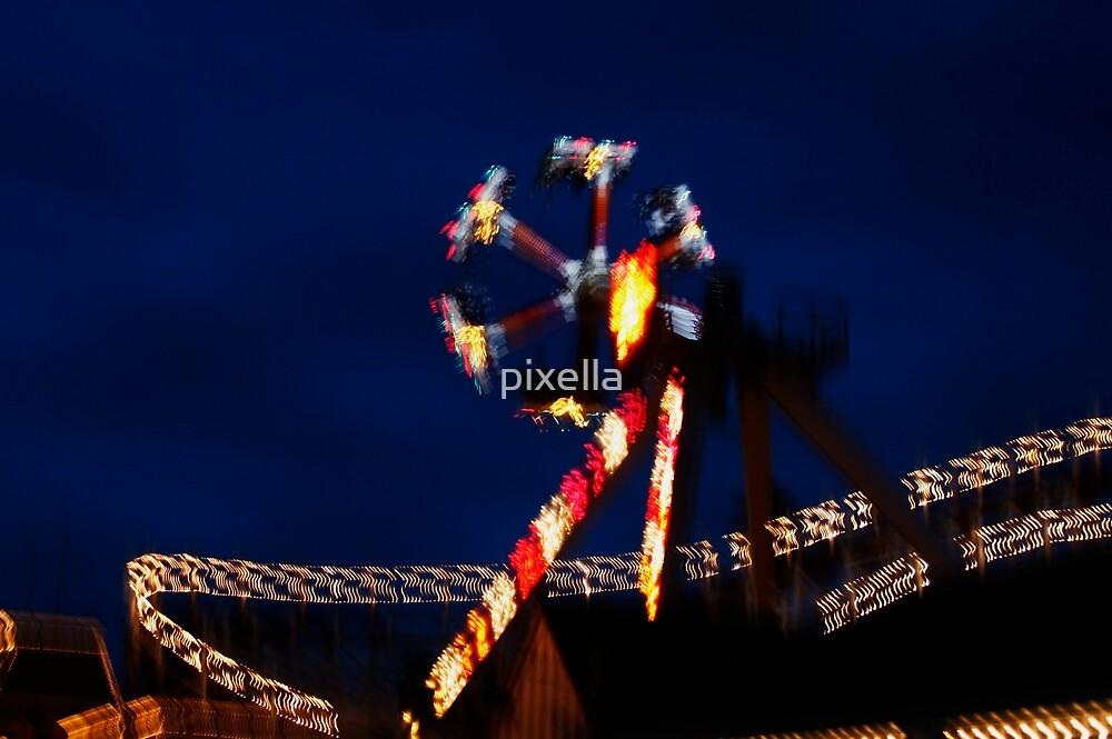 Santa Cruz  Color Blur by pixella