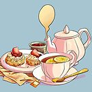 Afternoon Tea by VictoriaHamre