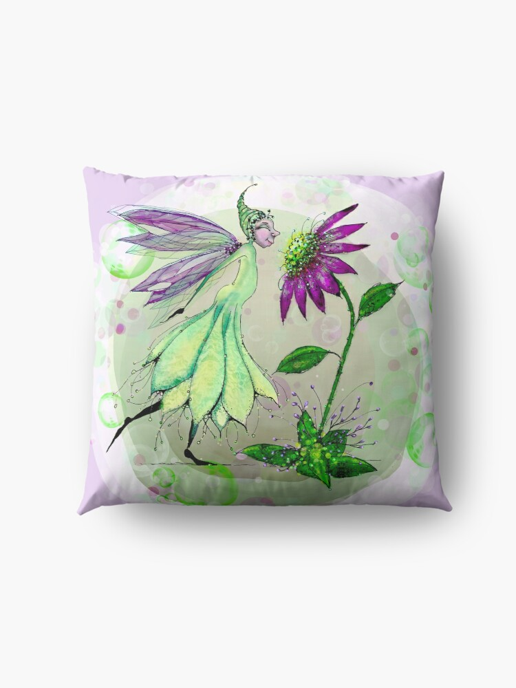 Alternate view of We Have So Much in Common - Fairie and Daisy Floor Pillow