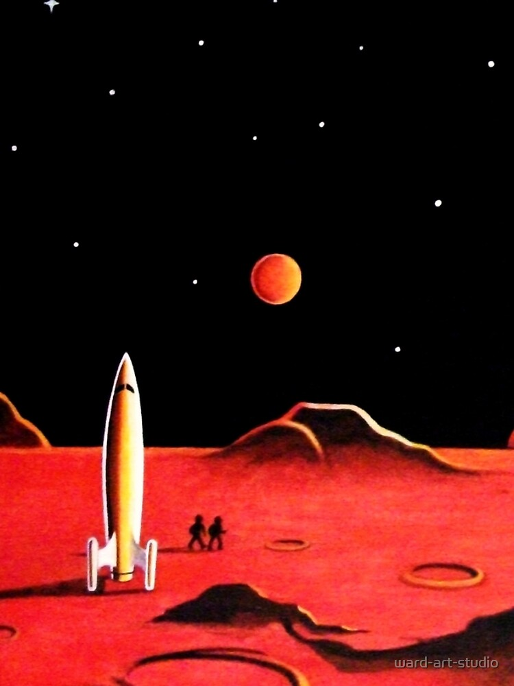 CITY ON MARS by ward-art-studio