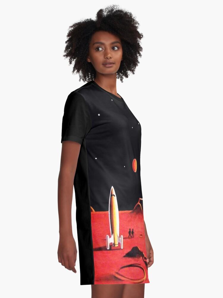 Alternate view of CITY ON MARS Graphic T-Shirt Dress