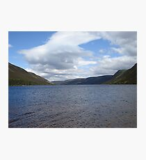 Loch Muick, Scotland Photographic Print