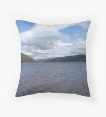Loch Muick, Scotland Throw Pillow