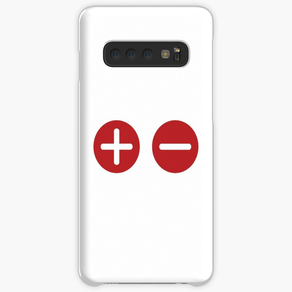 Plus and Minus Case & Skin for Samsung Galaxy