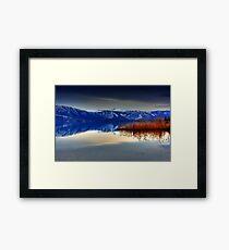 Soft Water.... Framed Print
