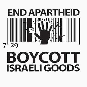 BOYCOTT ISRAELI GOODS by ventedanger
