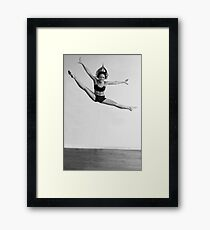 Defying Gravity Framed Print