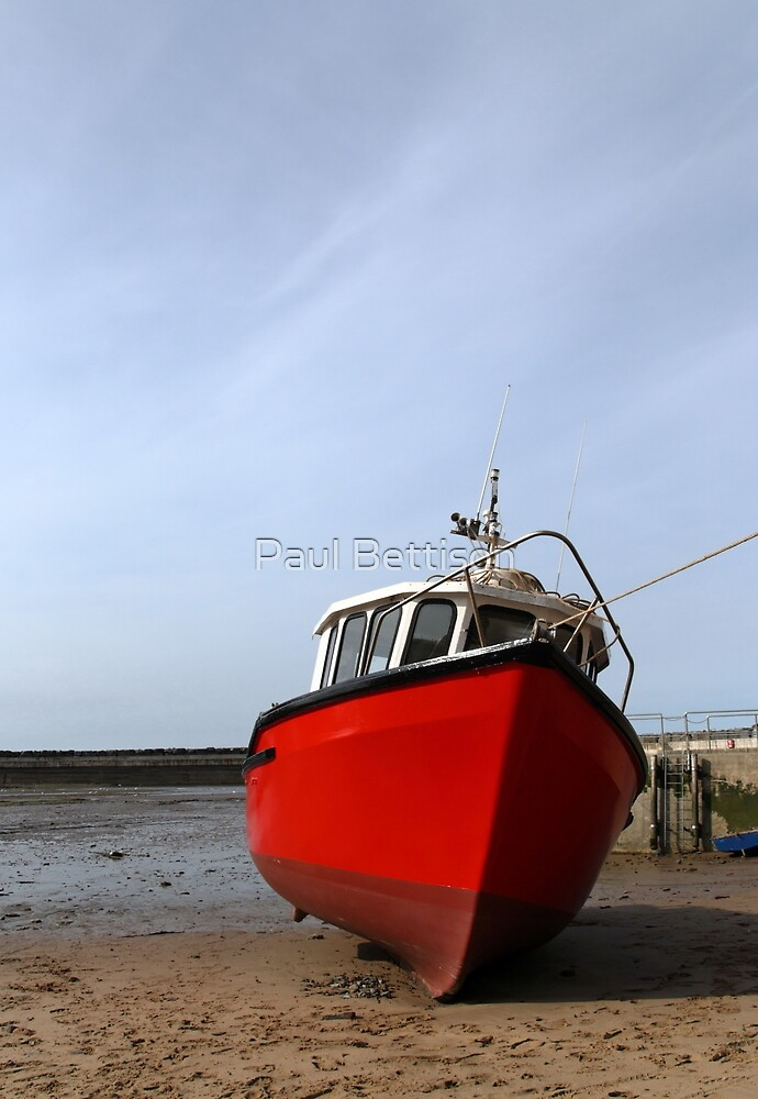 Red Boat at Staiths by Paul Bettison