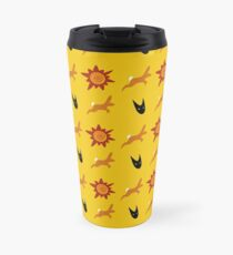 Chasing Life and Death Travel Mug