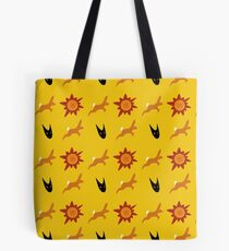 Chasing Life and Death Tote Bag