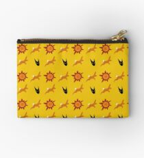 Chasing Life and Death Zipper Pouch