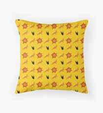 Chasing Life and Death Floor Pillow