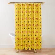 Chasing Life and Death Shower Curtain
