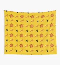 Chasing Life and Death Wall Tapestry