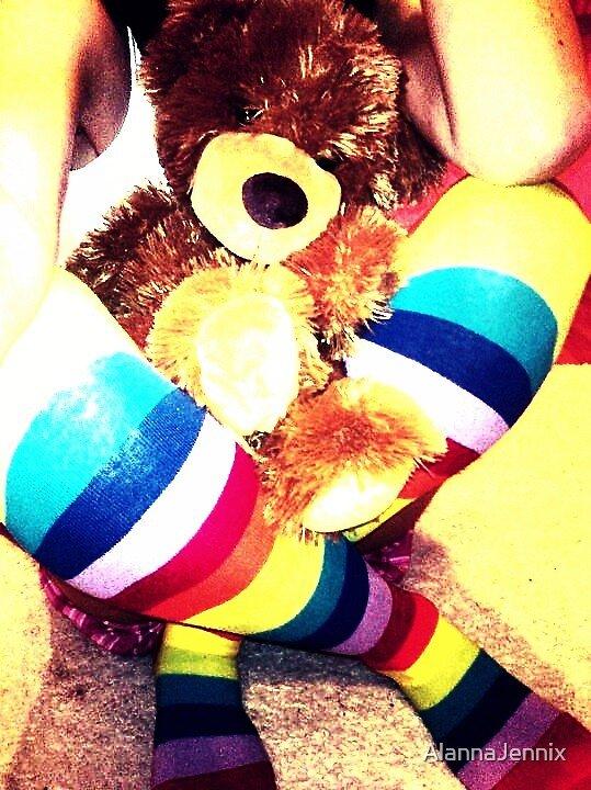 My Teddy  by AlannaJennix